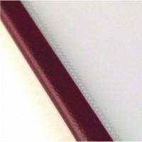 Прозрачная обложка 5 мм, бордо, SteelCrystal (25 шт.)