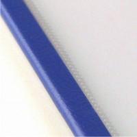 Прозрачная обложка 18 мм, синий, SteelCrystal (25 шт.)