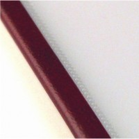 Прозрачная обложка 7 мм, бордо, SteelCrystal (25 шт.)