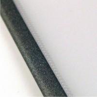 Прозрачная обложка 36 мм, алюминий, SteelCrystal (25 шт.)