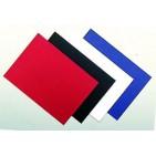 "Обложки А4 Картон ""Лен"" Красный"