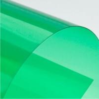 Обложка А4 0.18 мм Прозрачный зеленый